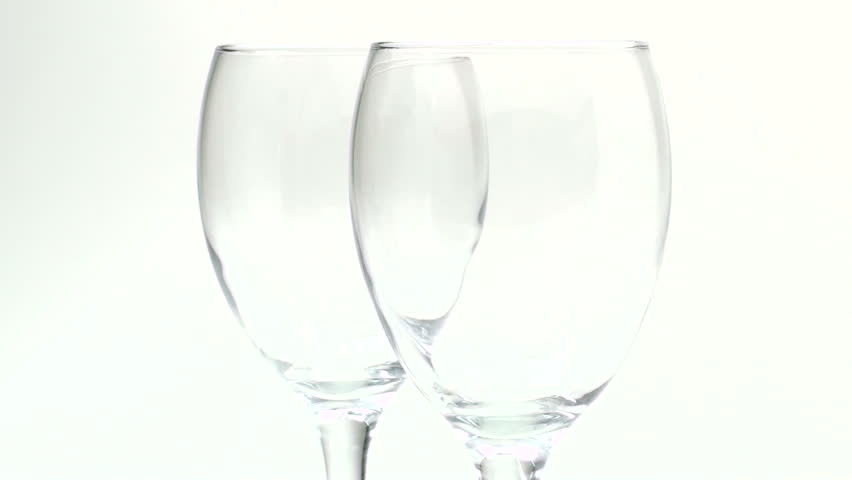 Angled Drinking Glasses
