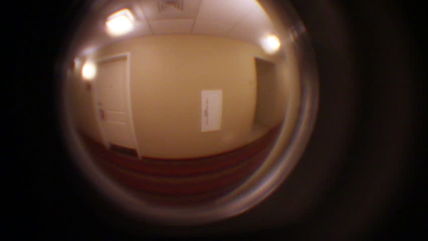 Bon Spy Peephole In Door At Hotel