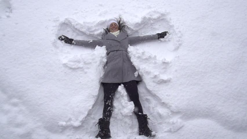 snow angel wallpaper cartoon - photo #12