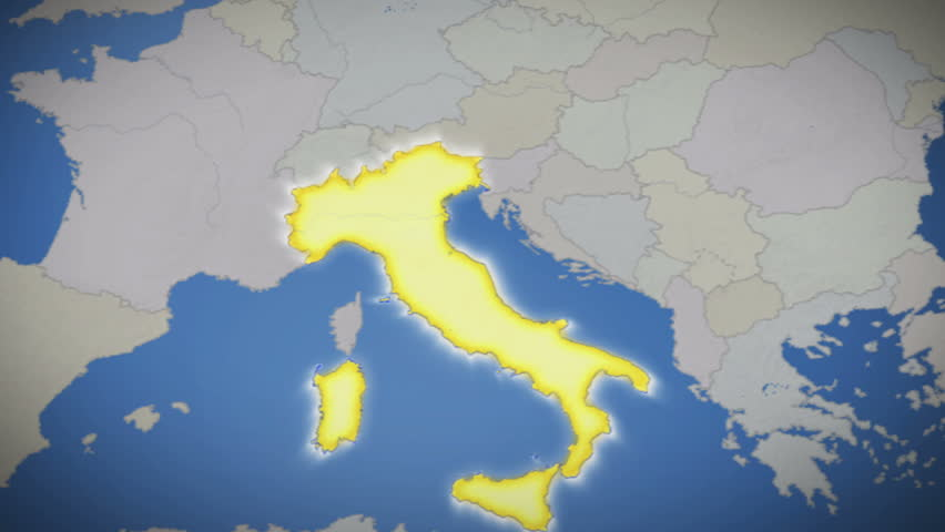 Italy on map of europe no signs or letters so you can insert own italy on map of europe no signs or letters so you can insert own graphics fonts etc available in blue background and red background gumiabroncs Choice Image