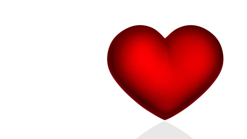 Rotating Red Heart Isolated On Stock Footage Video (100% Royalty-free)  4341920 | Shutterstock