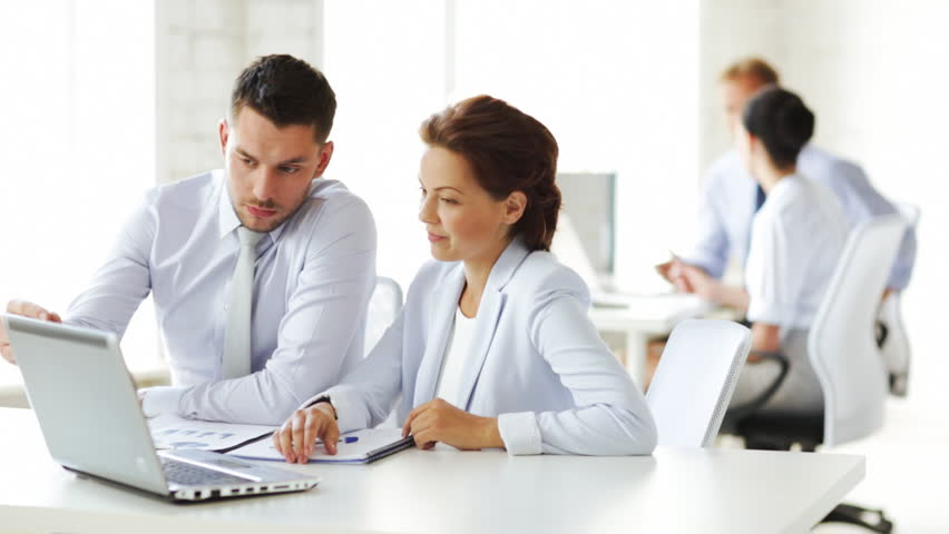 Group Of Business People Having Stock Footage Video (100