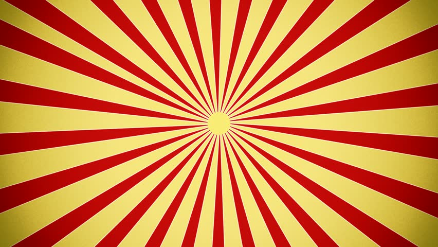 Sunburst in red and yellow vintage style | Shutterstock HD Video #4417580