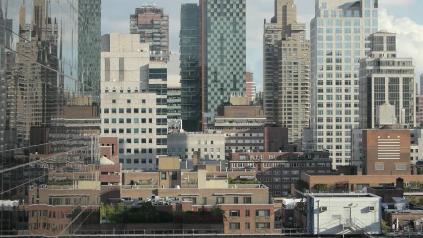 Skyline. cityscape. high rise. modern architecture.  | Shutterstock HD Video #4435586