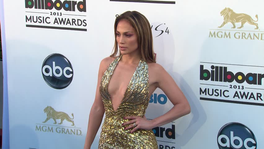 LAS VEGAS - May 19, 2013: Jennifer Lopez at the Billboard Music Awards 2013 in the MGM Grand Garden Arena in Las Vegas May 19, 2013