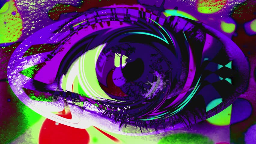 Psychedelic Eye - Abstract Background