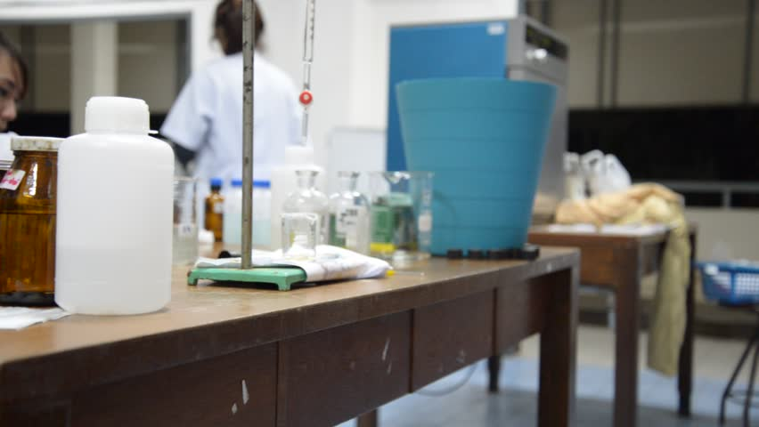 Scientist working at the laboratory  | Shutterstock HD Video #4467050