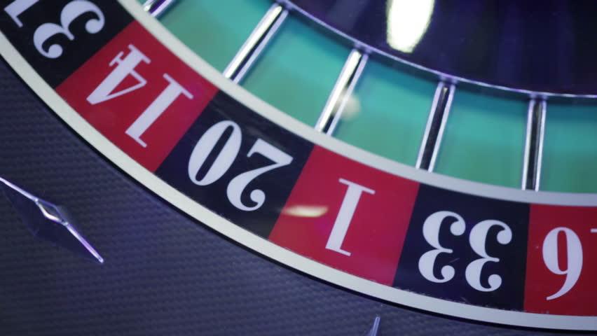 Roulette Spinning Wheel Start