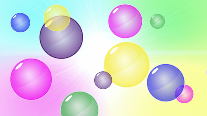 animated bubbles
