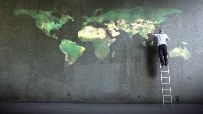 Street World Map.Wall Street World Map Videos De Stock 100 Libres De Droit