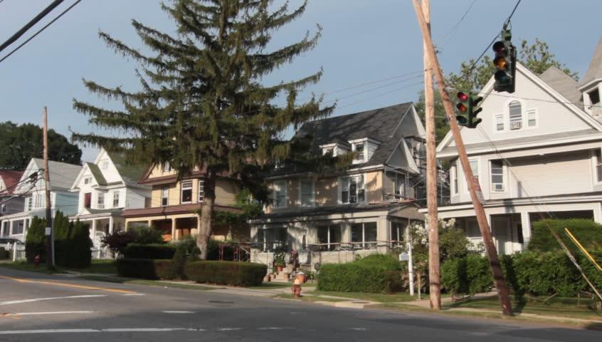 Middle Class Suburban Neighborhood | Shutterstock HD Video #4514150