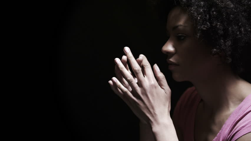 Image result for black woman praying