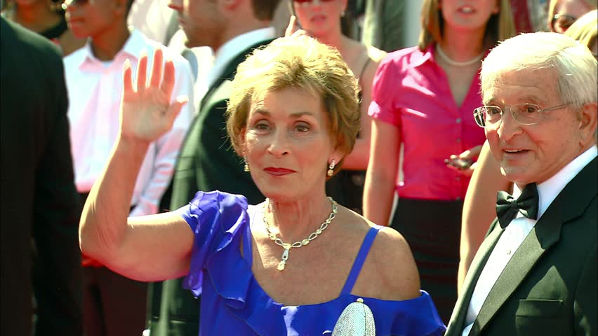 HOLLYWOOD - June 20, 2008: Judge Judy Sheindlin at the Daytime Emmy Awards 2008 in the Kodak Theatre in Hollywood June 20, 2008