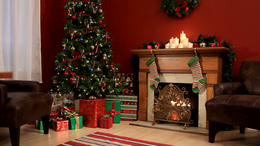 Christmas interior | Shutterstock HD Video #4551710