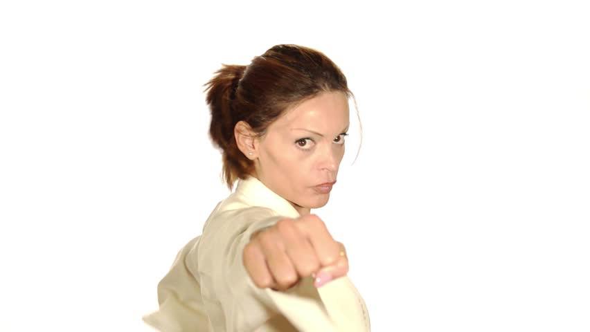 Header of karate