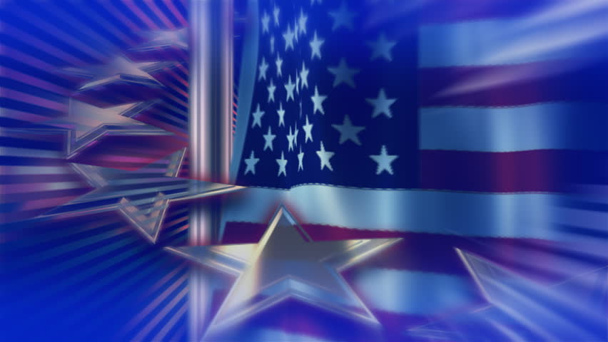 Patriotic Video Background