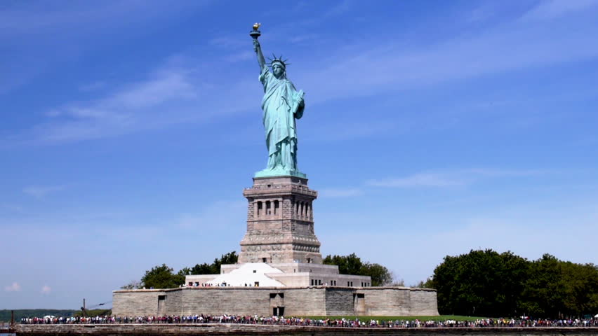 The Statue of Liberty. | Shutterstock HD Video #4597979