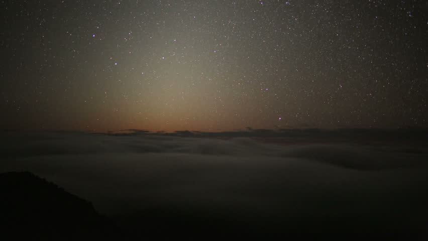 Perseides meteor shower Stars, Space, Milky Way Galaxy, Turning Through Sky, Time Lapse