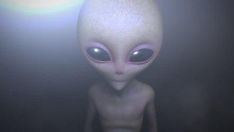 Aliens 3d animation
