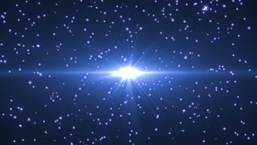 Blue star stream background #4686200