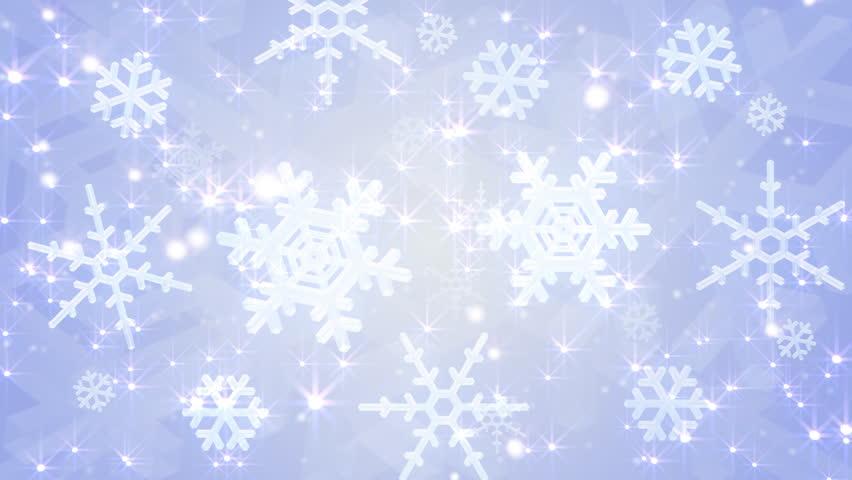 Snow crystals float. | Shutterstock HD Video #469270