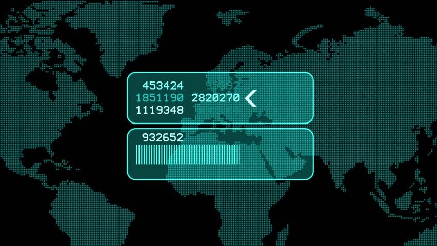 global GPS & data detect schedule,earth map & military Radar GPS screen display,navigation interface.