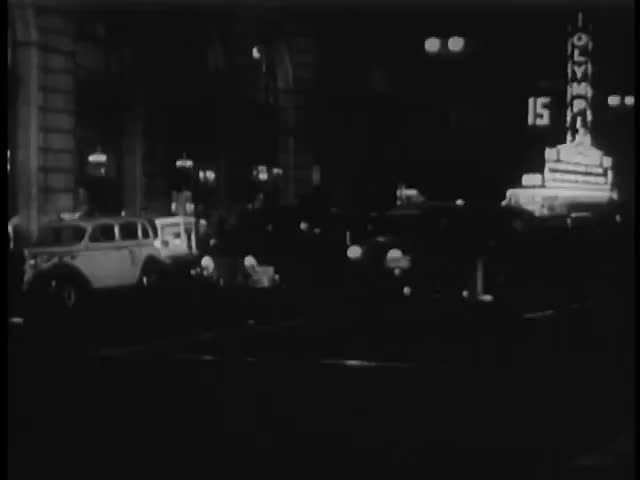 Cab moving on city road at night, Los Angeles, California, USA | Shutterstock HD Video #4753340