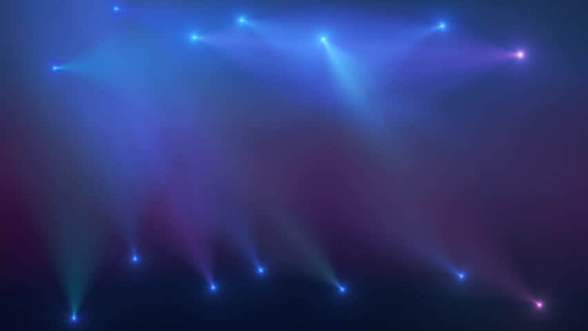 Blue and Pink Stage Lighting animated background