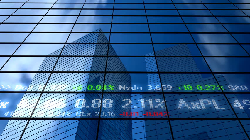 Stock market building | Shutterstock HD Video #4768340