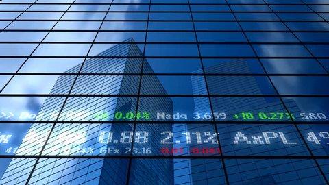 Stock market building
