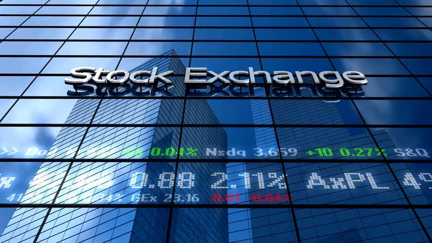 Stock market building | Shutterstock HD Video #4768370
