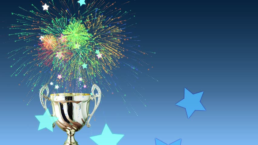 prize trophy stock footage video  100  royalty