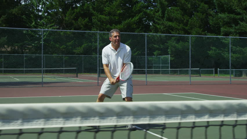 Header of tennis