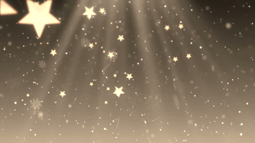 Elegant Christmas background with stars ( Series 7 - Version from 1 to 9 ) | Shutterstock HD Video #4822907