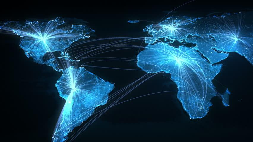 Global Network | Shutterstock HD Video #4858514