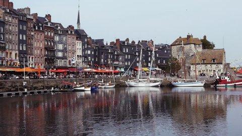 Port of Honfleur in France
