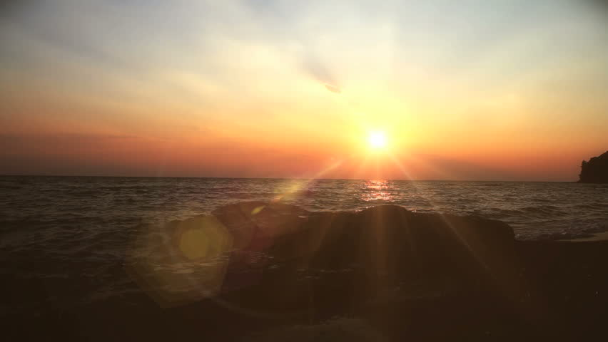 Sunset sea | Shutterstock HD Video #4867970