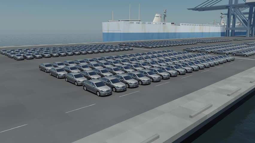 Automotive industry | Shutterstock HD Video #487420