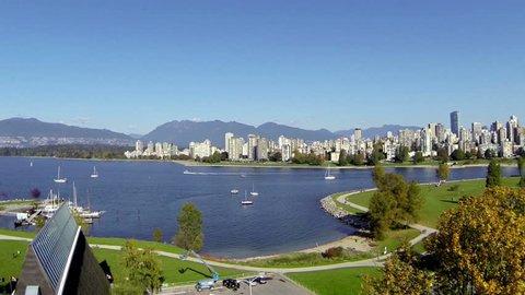 Vancouver canada jib shot