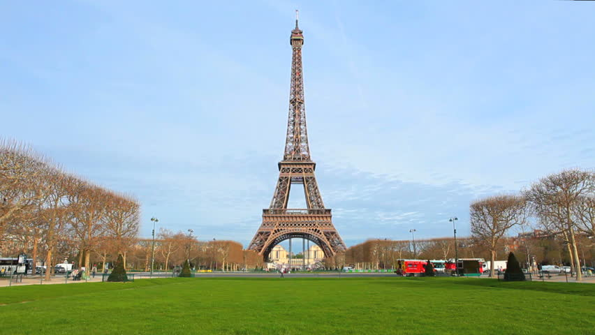 Paris - Eiffel Tower - Day Scene 