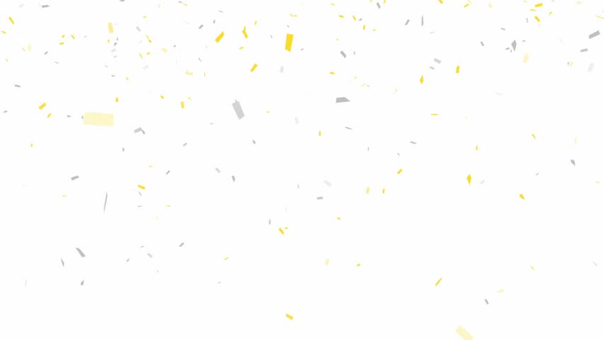 Gold and Silver Confetti