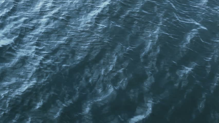 Stock Video Clip of Waves on a river seamless x2F looped
