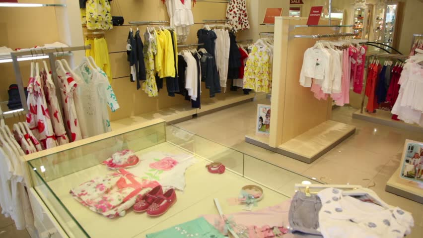 d45266cf7 Children Clothing Store with a Stock Footage Video (100% Royalty ...