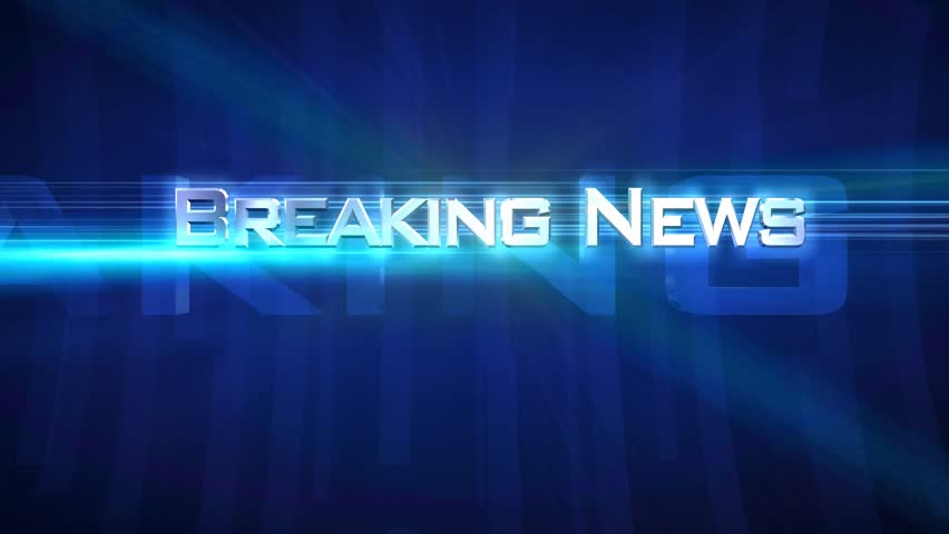 "Breaking News - Tube Blue - Opening sequence for your own ""news broadcast""  Use it for show intros or video titles.  Choose from 5 colors. ( Blue, Red, Green, Yellow, Purple ) See other versions 