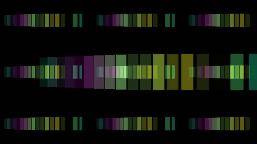 powerful light stripe video animation in motion, loop HD 1080p