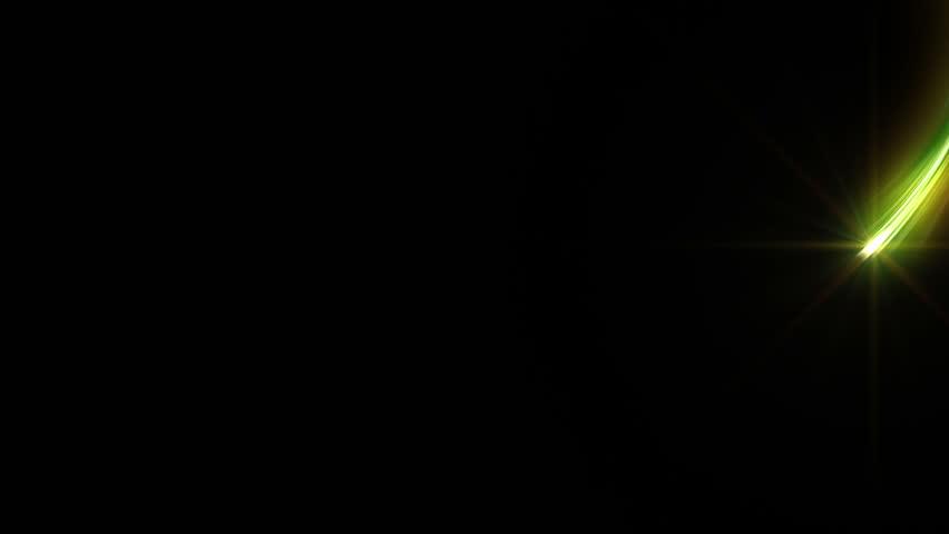 Colorful Light streaks.   Shutterstock HD Video #5190110