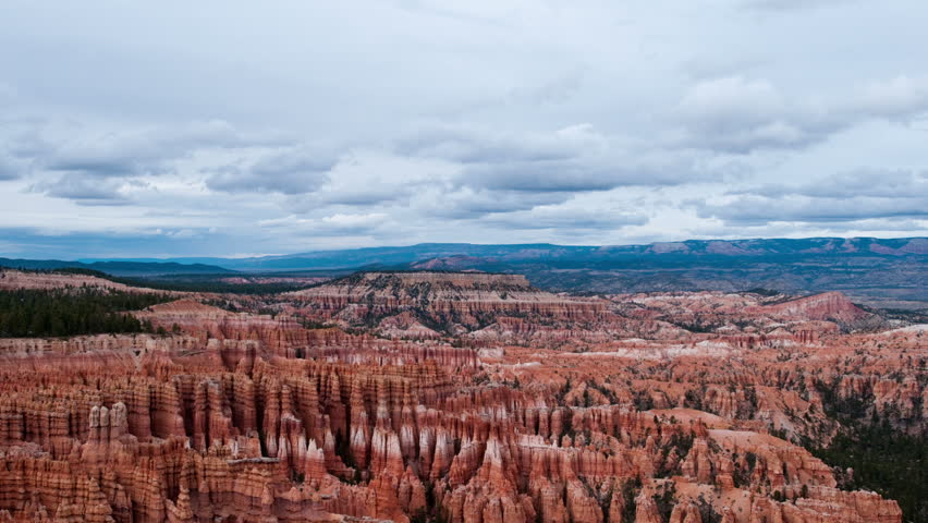 a144608c5 Time Lapse of Bryce Canyon Stock Footage Video (100% Royalty-free ...
