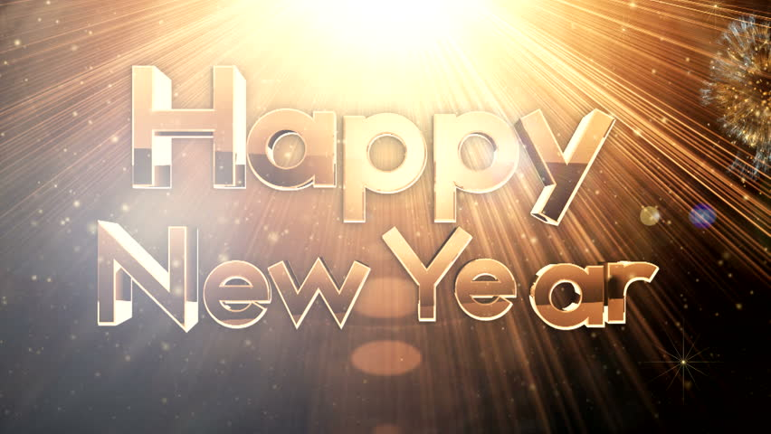 Golden new year celebrations ( Gold Special Series )    Shutterstock HD Video #5252864