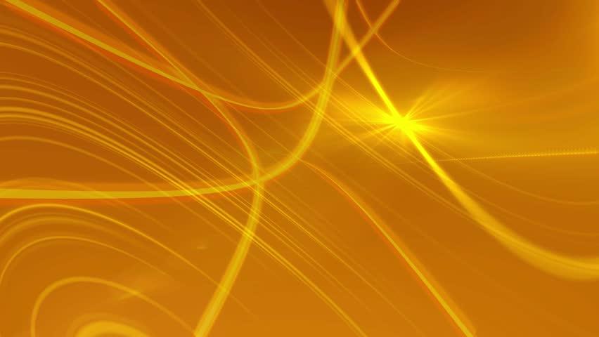 Golden Orange Vector Abstract Background