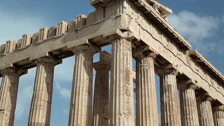an analysis of the architecture of the parthenon an ancient greek temple The space, or porch, in front of the cella, or naos, of an ancient greek temple pronaos the recessed porch in the rear of a greek temple, somtimes enclosed with bronze grilles and serving as a treasury.